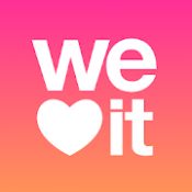 Androidアプリ「We Heart It」のアイコン