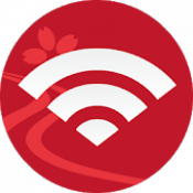 Androidアプリ「Japan Connected-free Wi-Fi」のアイコン
