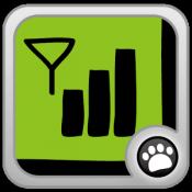 Androidアプリ「電波測定100%(スマホ&WiFi感度確認、アンテナ変更)」のアイコン