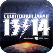 Androidアプリ「COUNTDOWN JAPAN 13/14」のアイコン