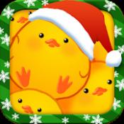 Androidアプリ「ひよこまみれXmas」のアイコン