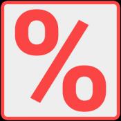 Androidアプリ「Discount Calculator」のアイコン