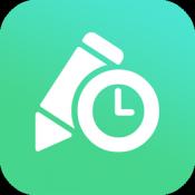 Androidアプリ「にーよんろぐ 〜1日24回限定のひとりごとブログ〜」のアイコン