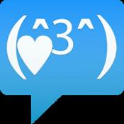Androidアプリ「かおもじ 絵文字 颜文字」のアイコン