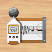 Androidアプリ「騒音計、地震計:Sound Meter Pro」のアイコン