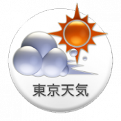 Androidアプリ「東京天気」のアイコン