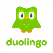 Androidアプリ「Duolingoで英語学習 - リスニングや会話をゲームのように楽しく学べる言語学習アプリ」のアイコン