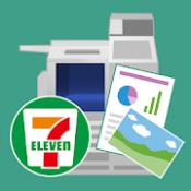 Androidアプリ「写真もPDFもコンビニですぐ印刷「かんたんnetprint」」のアイコン