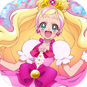 Androidアプリ「【公式】Go!プリンセスプリキュア 応援アプリ」のアイコン
