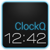 Androidアプリ「ClockQ - Digital Clock Widget」のアイコン