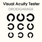 Androidアプリ「Visual Acuity Tester (視力検査)」のアイコン