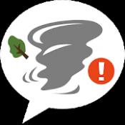 Androidアプリ「竜巻アラート - お天気ナビゲータ」のアイコン