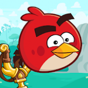 Androidアプリ「Angry Birds Friends」のアイコン