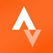 Androidアプリ「Strava GPSトラッカー:サイクリング、ランニング、トレーニングのログ」のアイコン