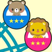 Androidアプリ「知育無料アプリ こども観覧車 赤ちゃん・幼児・こども向け」のアイコン