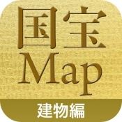 Androidアプリ「国宝建物MAP」のアイコン