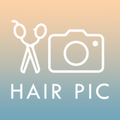 Androidアプリ「カットモデルアプリ【無料で美容室】〜HAIR PIC〜 」のアイコン