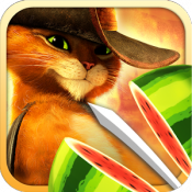 Androidアプリ「Fruit Ninja: Puss in Boots」のアイコン