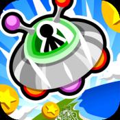 Androidアプリ「UFOでコイン」のアイコン