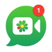 Androidアプリ「ICQ -  ビデオチャット&音声通話」のアイコン