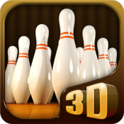 Androidアプリ「Pocket Bowling 3D」のアイコン