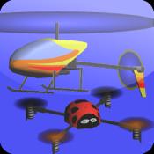 Androidアプリ「インドア ヘリコプター シミュレータ 3D Free」のアイコン
