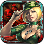 Androidアプリ「たおせゾンビ![パズル&ディフェンスゲーム]」のアイコン