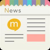 Androidアプリ「mixiニュース - みんなの意見が集まるニュースアプリ」のアイコン