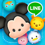 Androidアプリ「LINE:ディズニー ツムツム」のアイコン