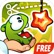Androidアプリ「Cut the Rope: Experiments FREE」のアイコン
