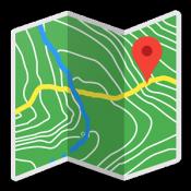 Androidアプリ「バックカントリー・ナビゲーターのTOPO GPS」のアイコン