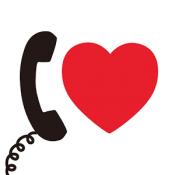 Androidアプリ「lovecall -電話帳プラス-」のアイコン