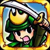 Androidアプリ「サムライディフェンダー【戦国ディフェンスゲーム】」のアイコン