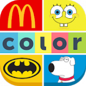 Androidアプリ「Colormania Game 2019 - 色を推測する - ロゴクイズゲーム」のアイコン