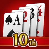 Androidアプリ「ソリティアV - 100ゲーム以上のトランプお得パック」のアイコン
