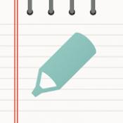 Androidアプリ「ソムノート - きれいなメモ帳」のアイコン