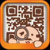 Androidアプリ「QRコードおじさん  広告なしの無料QRコード読み取りアプリ」のアイコン