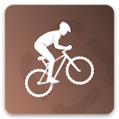 Androidアプリ「Runtastic Mountain Bike サイコン」のアイコン