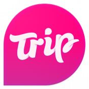 Androidアプリ「Trip.com - City & Travel Guide」のアイコン