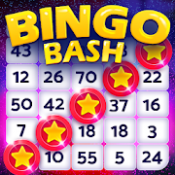 Androidアプリ「Bingo Bash: Bingo and Slot ビンゴ ゲーム と スロット アプリ」のアイコン