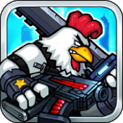 Androidアプリ「Chicken Warrior:Zombie Hunter」のアイコン