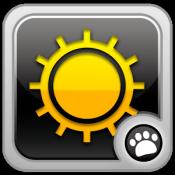 Androidアプリ「画面の明るさ設定 無料」のアイコン