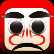 Androidアプリ「だるま落とし」のアイコン