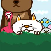 Androidアプリ「どうぶつこいこい ~ネコと動物の無料パズルゲーム~」のアイコン