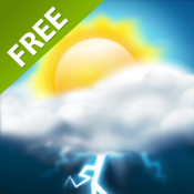 Androidアプリ「Weather HD Free」のアイコン