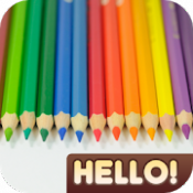Androidアプリ「Hello Color Pencil」のアイコン