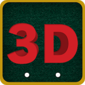 Androidアプリ「3D Stereograms (不思議アート)」のアイコン