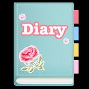 Androidアプリ「3Q写真日記 プリ帳 思い出ノート 育児日記 ペット日記」のアイコン