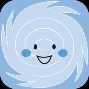 Androidアプリ「台風一家」のアイコン