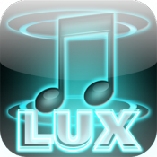 Androidアプリ「LUX3D Music Player 美しすぎるプレイヤー」のアイコン